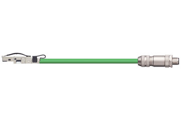 readycable® bus cable similar to B&R iX67CA0E41.xxxx, base cable PVC 12.5 x d
