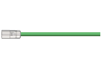 readycable® pulse encoder cable acc. to Baumüller standard 198963 (5 m), pulse encoder base cable PVC 10 x d