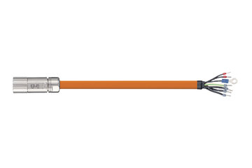 readycable® servo cable similar to Beckhoff iZK4000-2112-xxxx, base cable iguPUR 15 x d