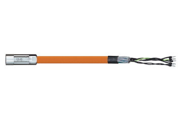 readycable® motor cable acc. to Parker standard iMOK43, base cable PUR 10 x d