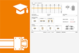 Service life calculator for linear guides