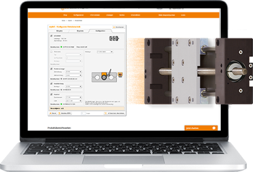 Configurator for the drylin drive technology